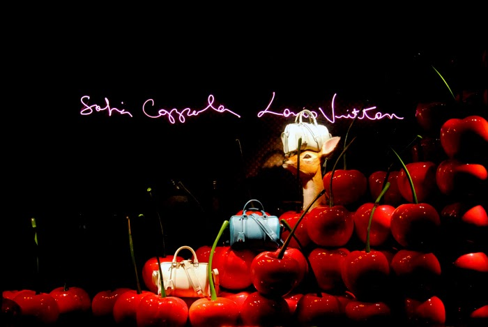 sofia-coppola-louis-vuitton-le-bon-marche-cherry-deer