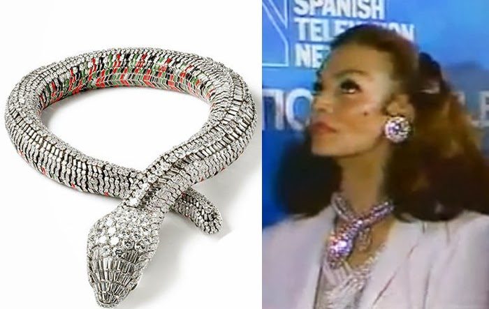 Fashion trend of 2017 - Cartier Expo Maria Felix Et Son Collier Serpent Blog