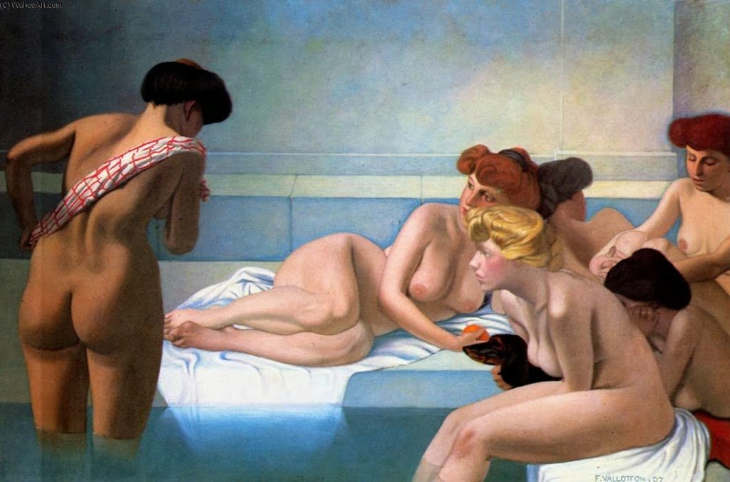 painting-felix-vallotton