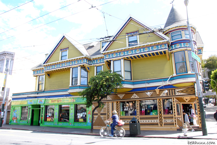 maison-victorienne-colorée-colorful-victorian-house-san-francisco-in haight-street