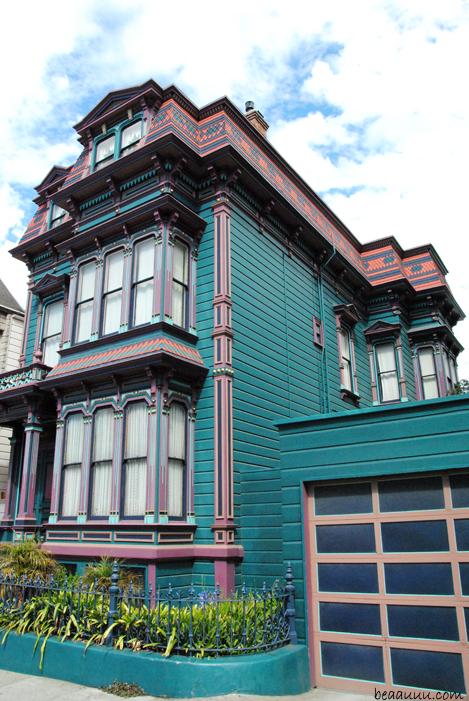 Maison victorienne color e colorful victorian house san francisco 8 blog mo - San francisco maison victorienne ...