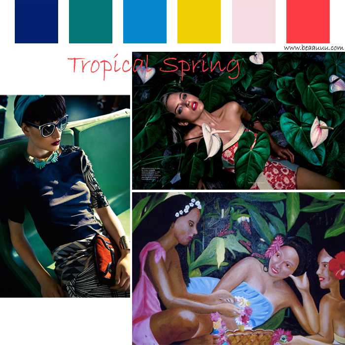 tendance-ete-2015-trend-summer-tropical-color-palette