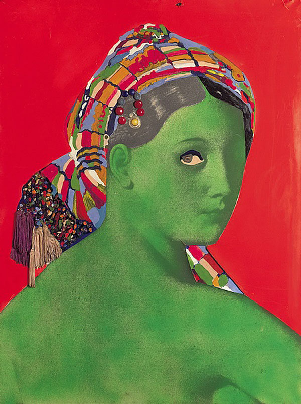 Martial Raysse, Made in Japan - La Grande Odalisque, 1964