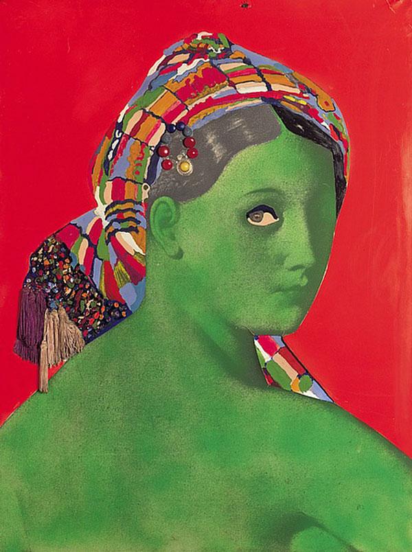 Martial Raysse, Made in Japan - La Grande Odalisque, 1964