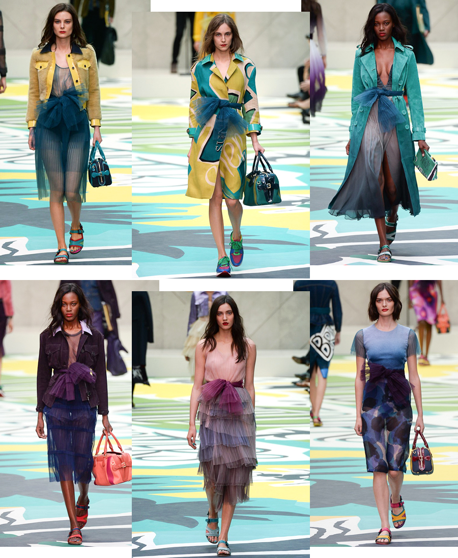 London Fashion Week Summer 2015 burberry-prorsum