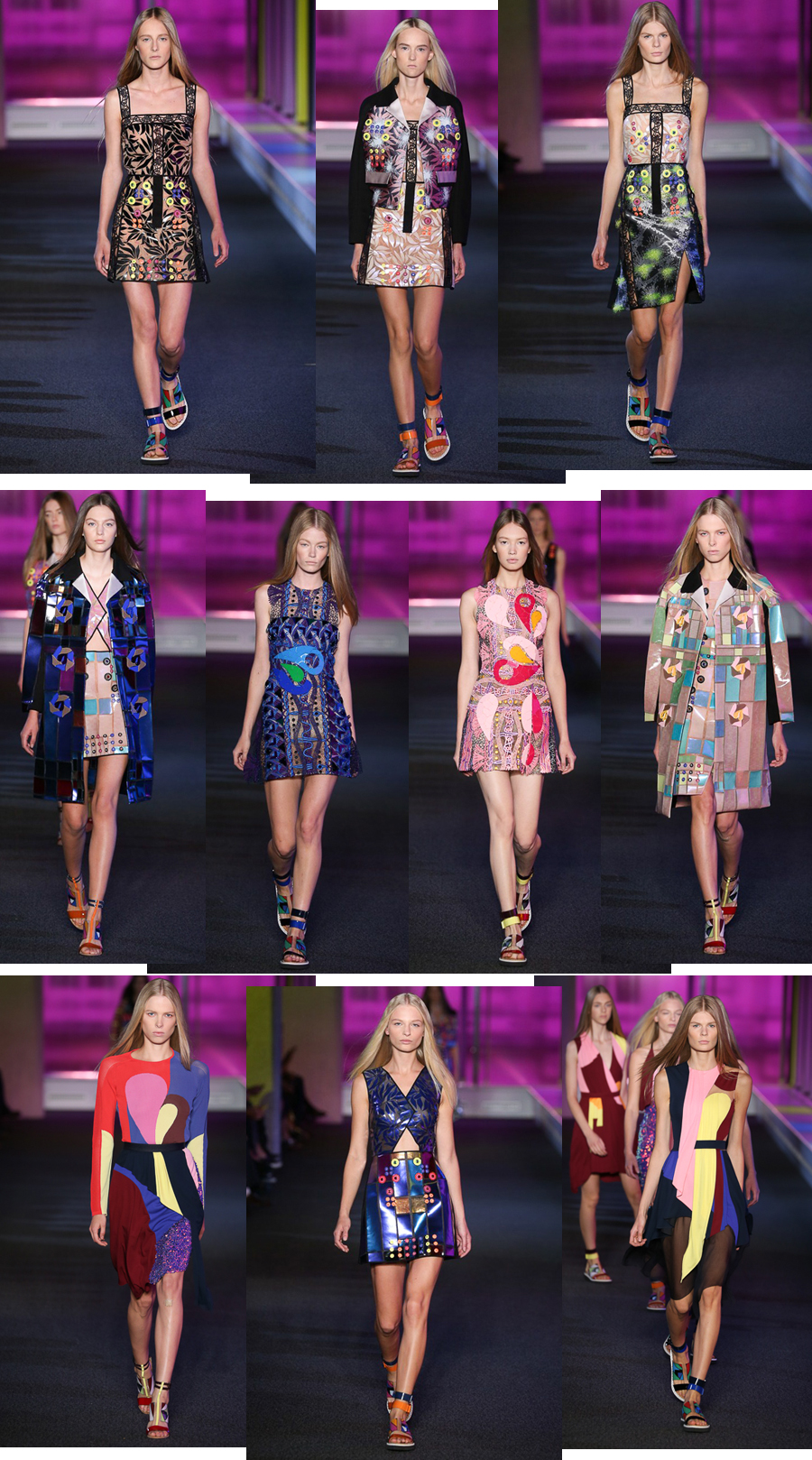 London Fashion Week Summer 2015 Peter Pilotto
