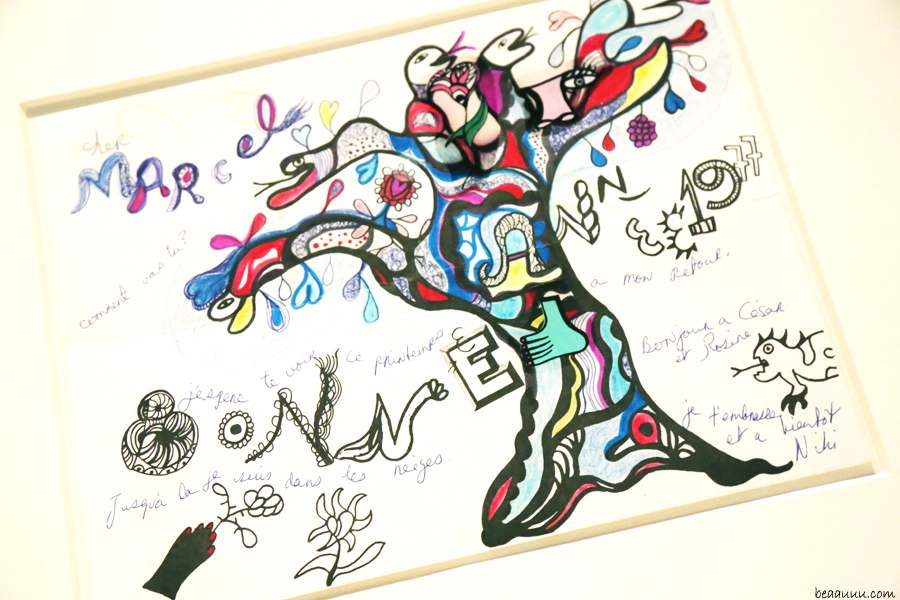 drawing-marcel-niki-de-saint-phalle