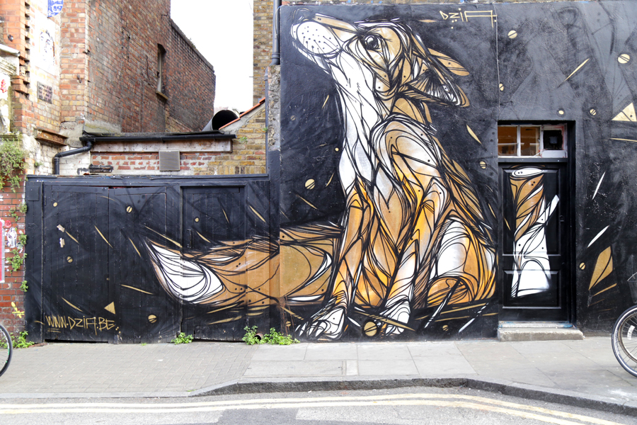 fox-grafitti-london