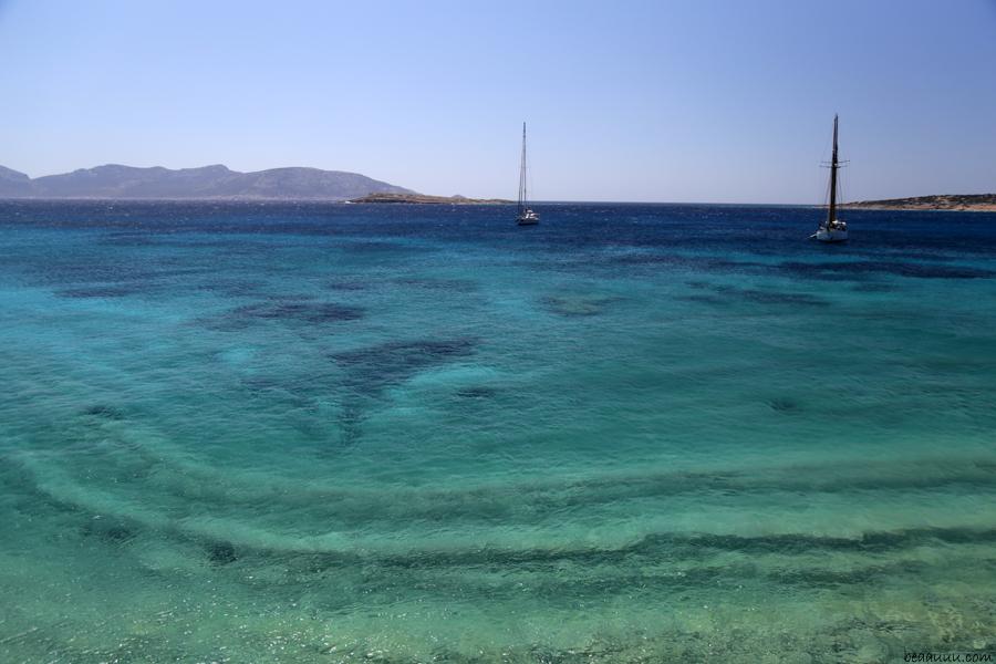 sea skyline cyclades