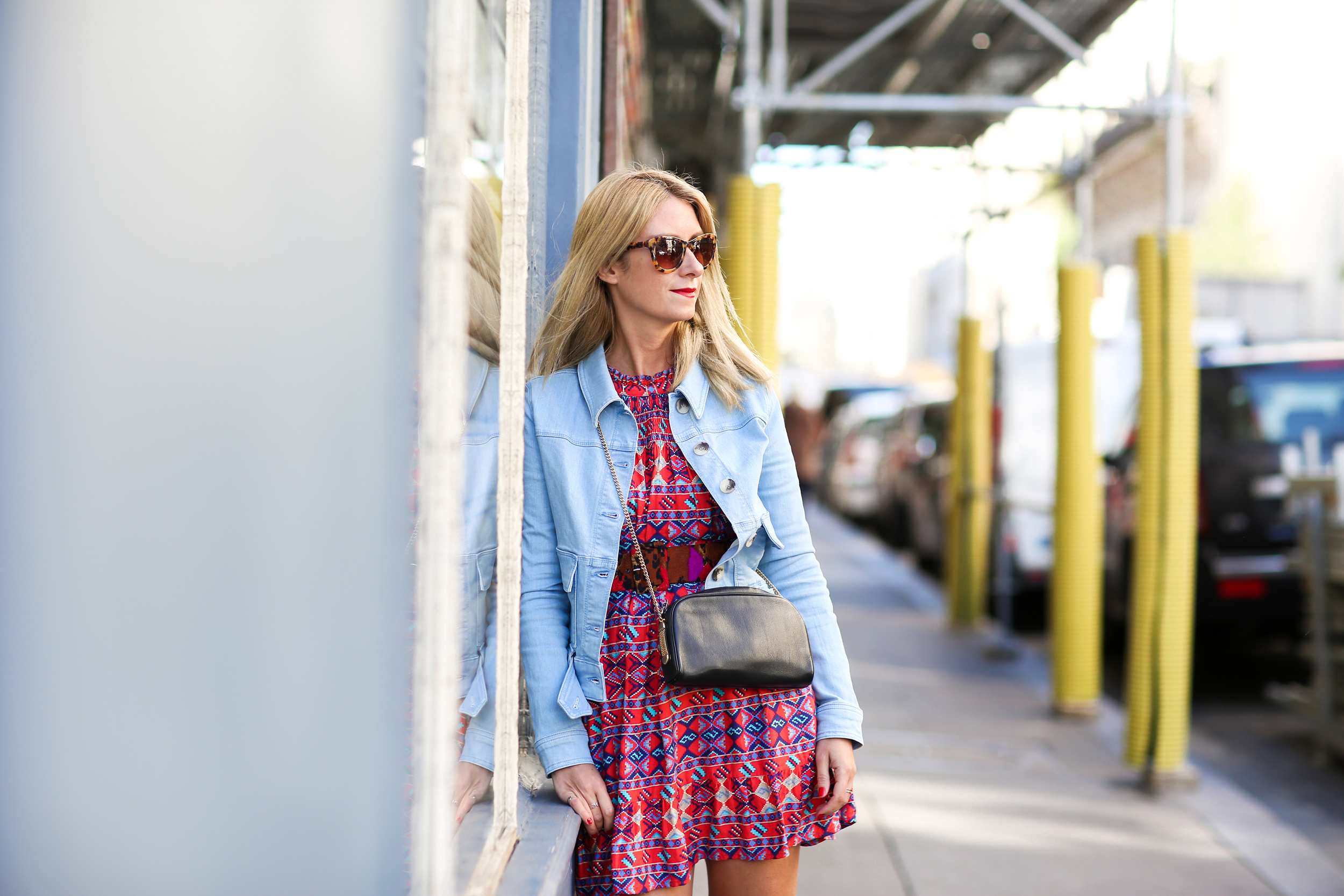 denim-jacket-and-vintage-dress