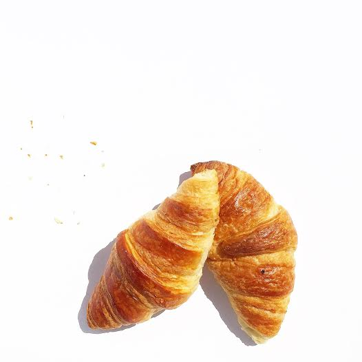 French croissant happiness