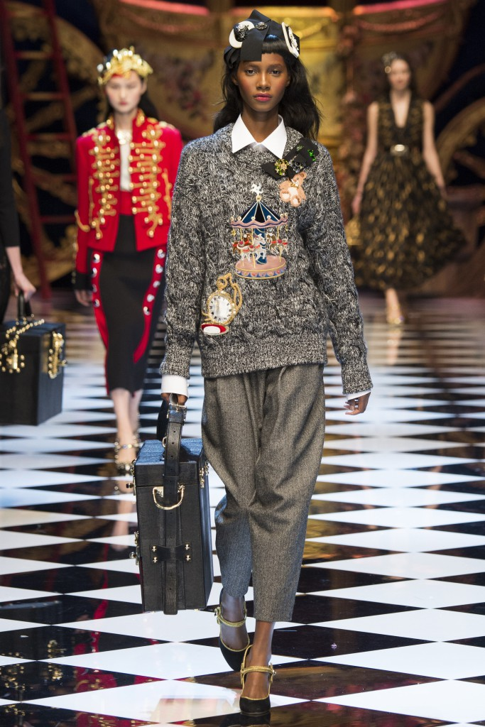 milan fashion week dolce gabbana aw16