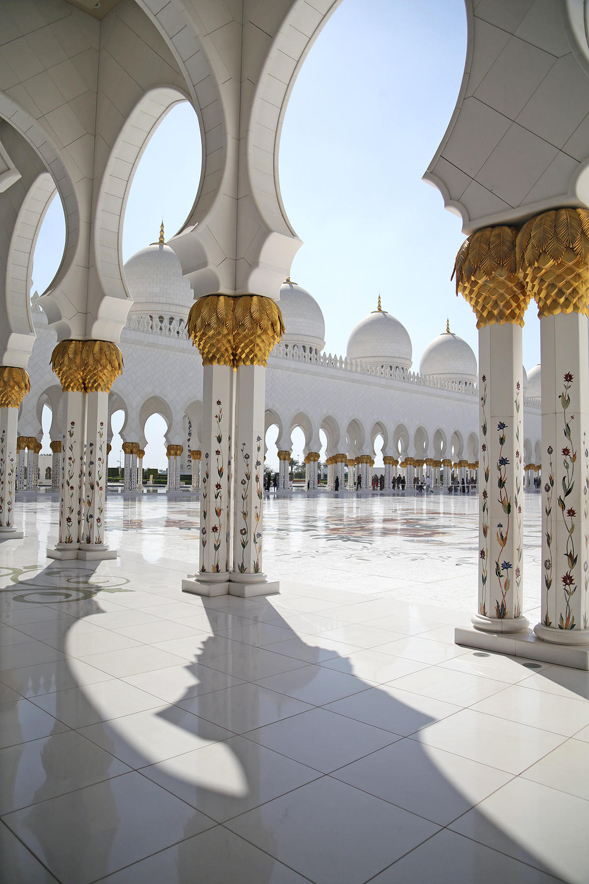mosquée Cheikh Zayed Abu Dhabi design