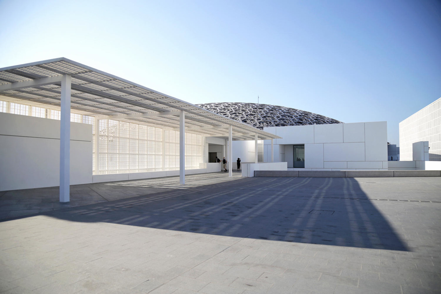 Abu Dhabi Louvres Museum architecture design