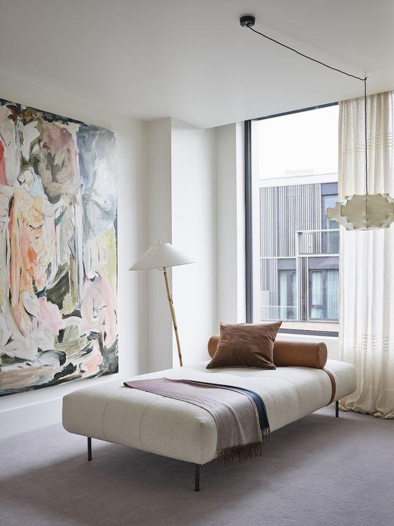 The Art Apartment design by Laura Fulmine Photos by Jake Curtis