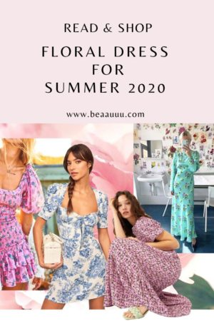 floral dresses to shop now summer 2020