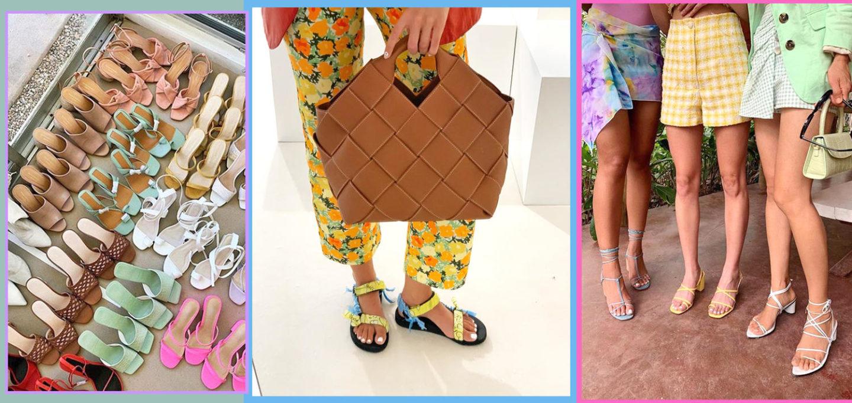 trendy sandals Summer 2020