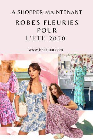 robe fleurie été 2020 shop