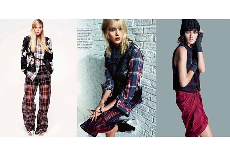 panneau-de-tendances-mode-femme-inspiration-grunge-chemise-a-carreaux