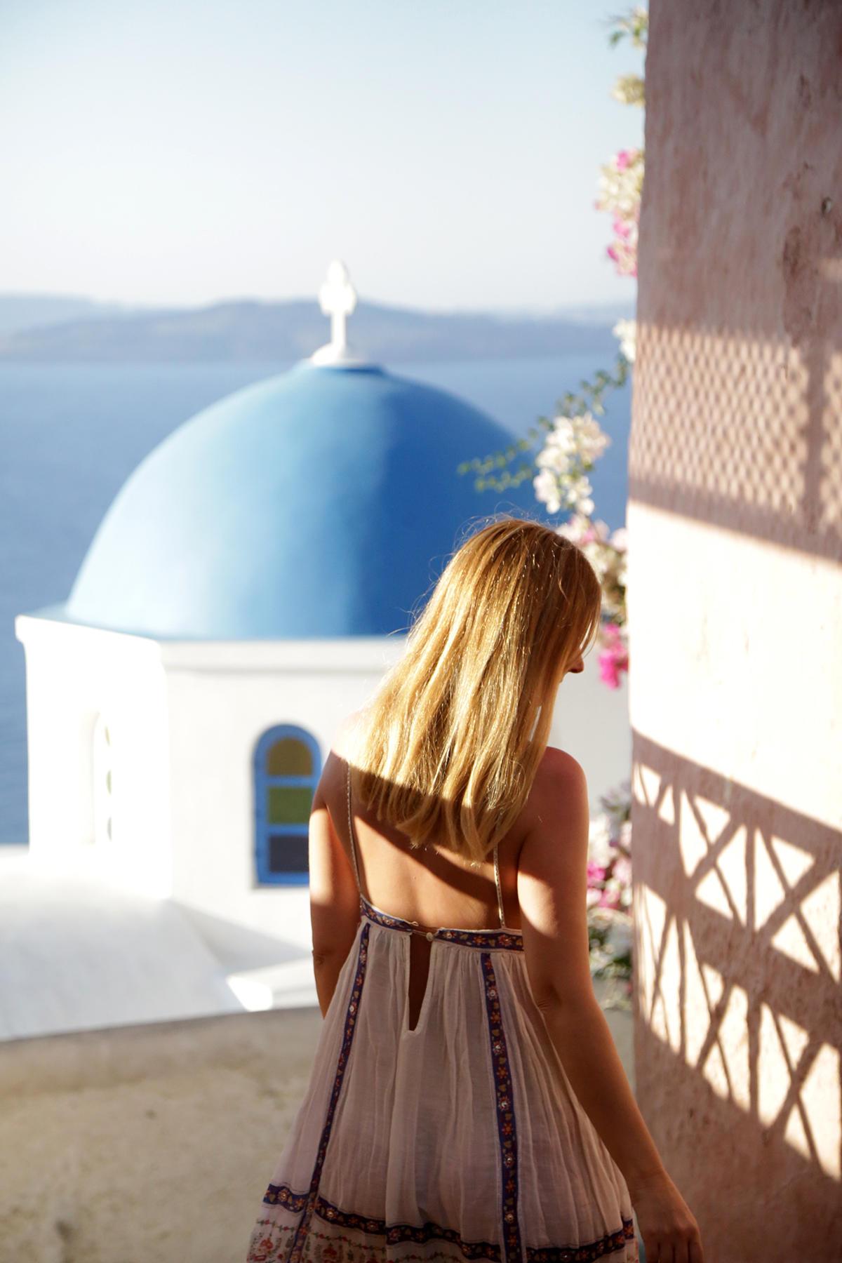 Santorin guide voyage Oia