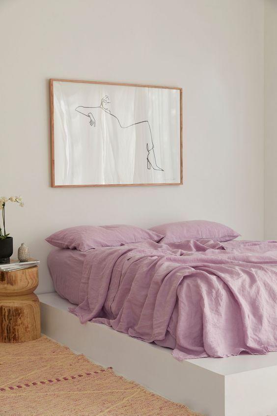 Pinterest Inspiration-Bedroom contemporary boho design