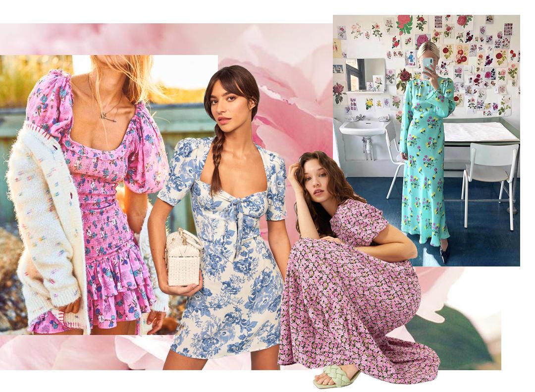 floral dresses to shop for summer 2020